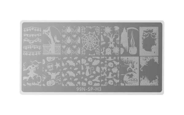 Special Stamping Plate - Halloween Night