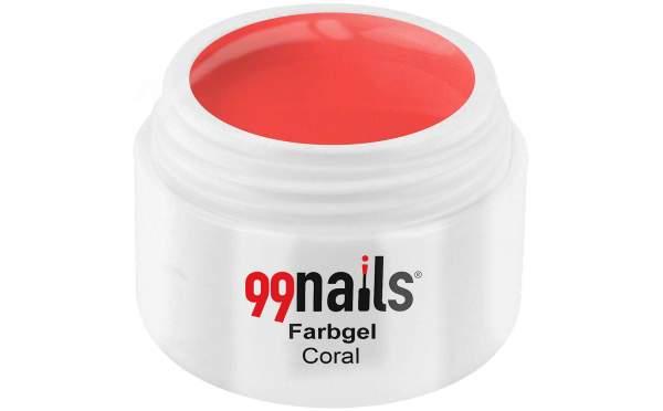 Colour Gel - Coral 5ml