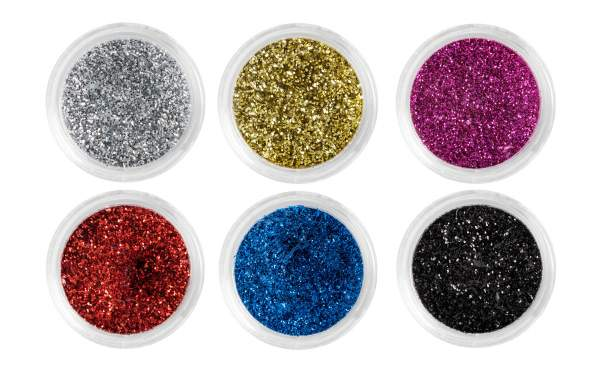 Nail Art Glitter Dust Set No. 2 - 12 Assorted Colours