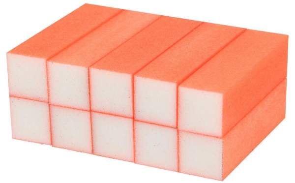Buffer Block Neon Orange 10 pcs