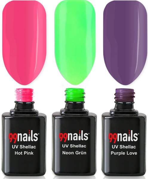 EasyLac Gel Polish Set - Happy Fingers 12ml