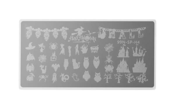 Special Stamping Plate - Happy Halloween
