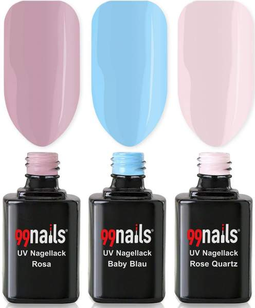 Gel Polish Set - Light Colours 12ml