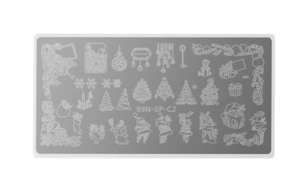 Special Stamping Plate - Santa Claus