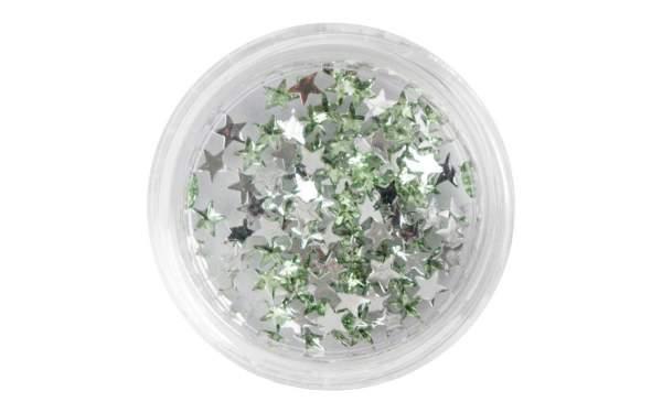 Nail Art Star-shaped Rhinetones Light Green