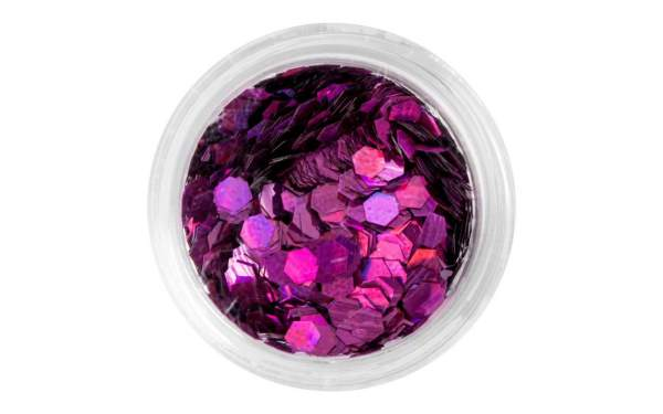 Nail Art Sequins Large Pink