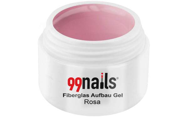 Fibreglass Builder Gel - Light Pink 15ml