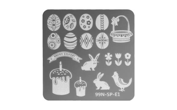 Special Stamping Plate - Easter Egg