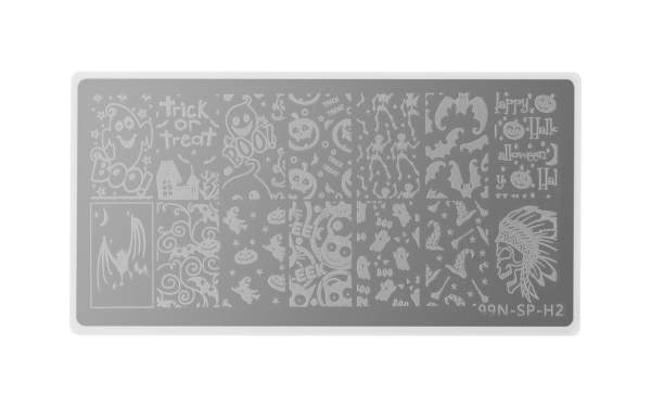 Special Stamping Plate - Trick or Treat