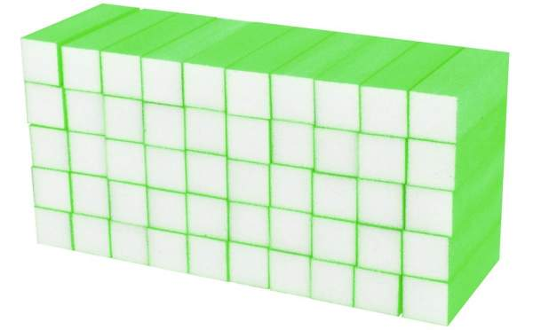 Buffer Block Neon Green 50 pcs