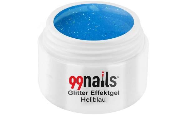 Glitter Gel - Light Blue 5ml