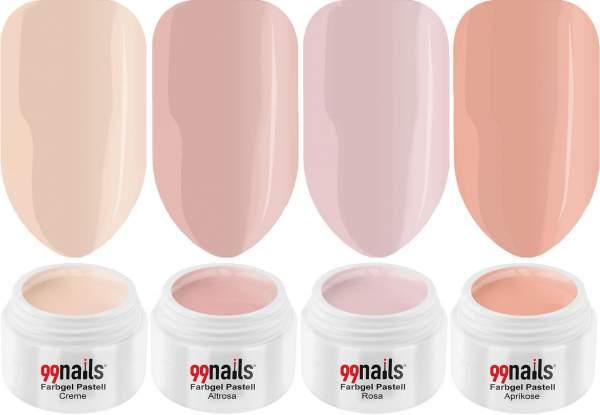 UV Colour Gel Set - Natural Beauty 5ml