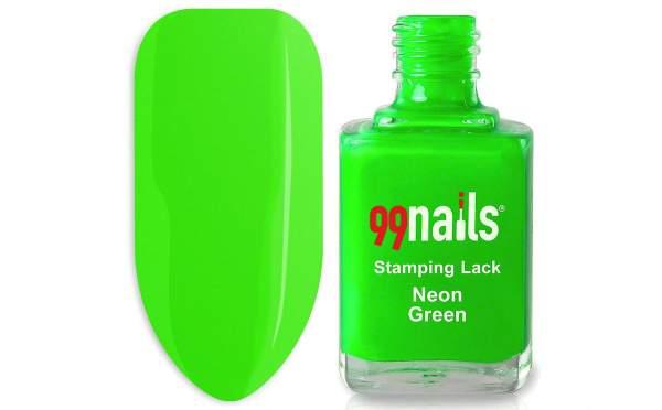 Stamping Polish - Neon Green 12ml