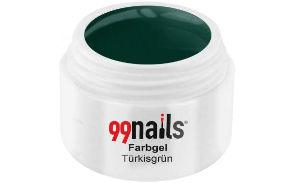 Colour Gel - Turquoise Green 5ml