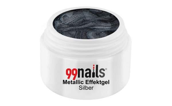 Metallic Gel - Silver 5ml