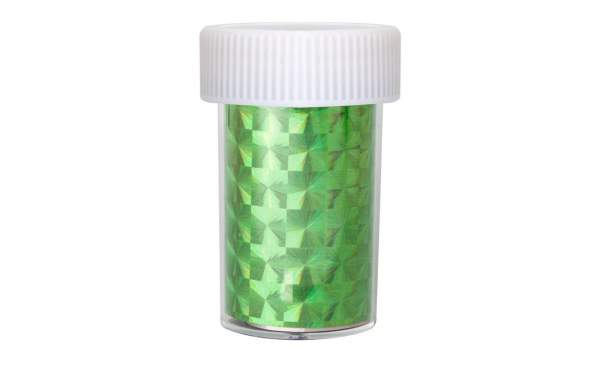 Holographic Nail Foil Green