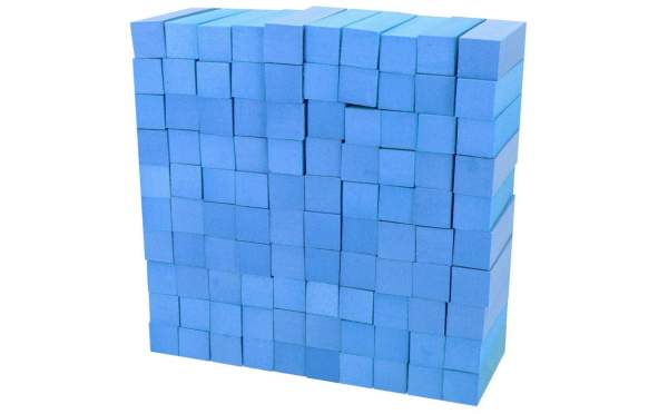 Buffer Block Blue 100 pcs