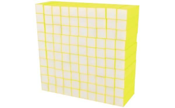 Buffer Block Neon Yellow 100 pcs