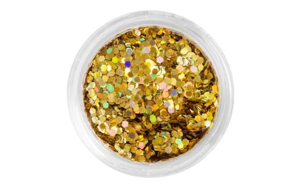Nail Art Sequins Small Gold
