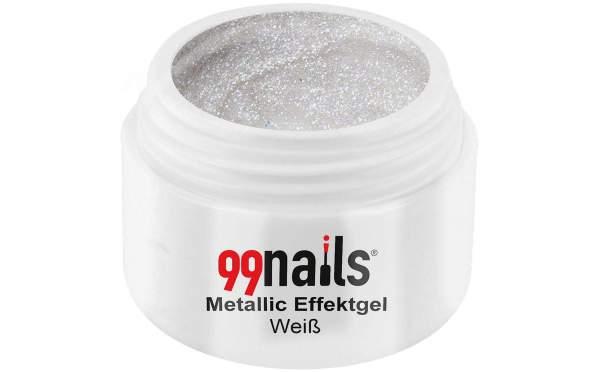 Metallic Gel - White 5ml