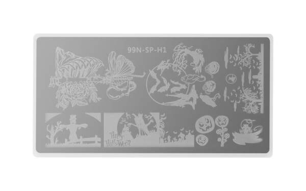 Special Stamping Plate - Spooky Halloween