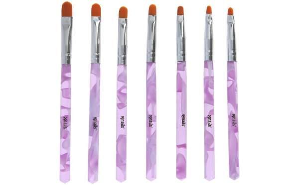 Gel Brush Set Pink Series 7 pcs