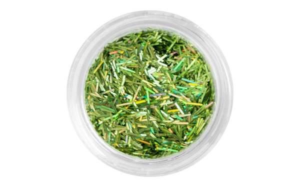 Nail Art Glitter Threads Fresh Green