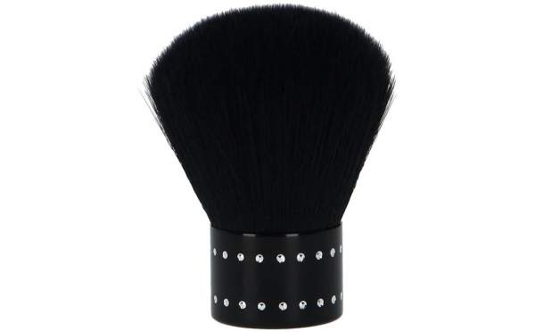 Dust Brush Black With Rhinestones