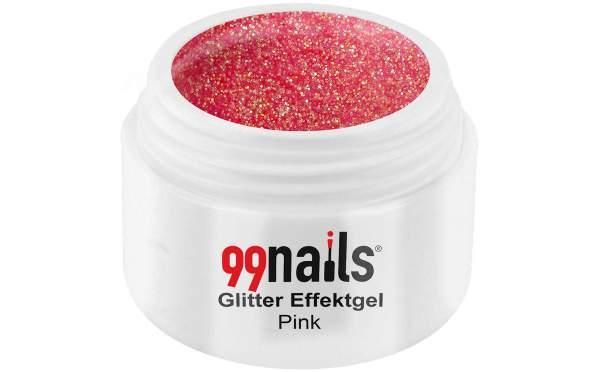 Glitter Gel - Pink 5ml