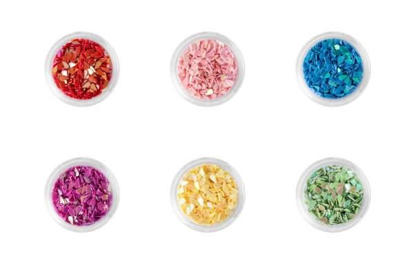 Nail Art Tear Drops Set 6 Assorted Colours