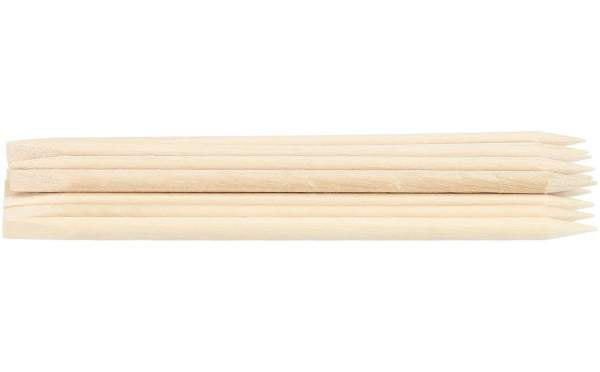Orange Wood Stick 10 pcs