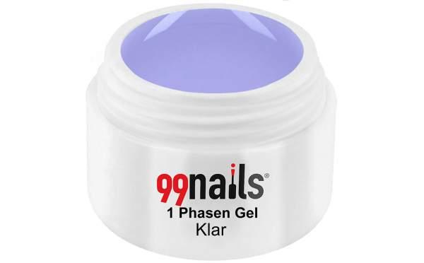 UV LED 1 Phasen Gel - Klar 5 ml
