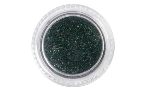 Nail Art Neon Glitter Dust Dark Green