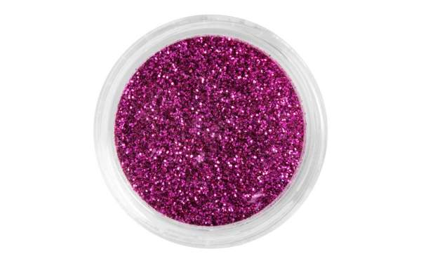 Nail Art Glitter Dust Pinky Red