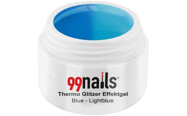 Thermo Glitter Gel - Blue-Light Blue 5ml