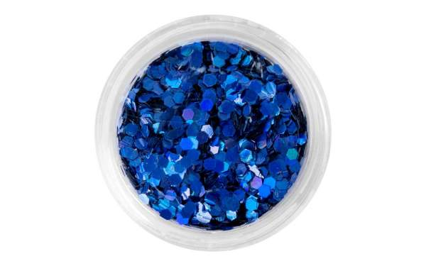 Nail Art Sequins Medium Blue