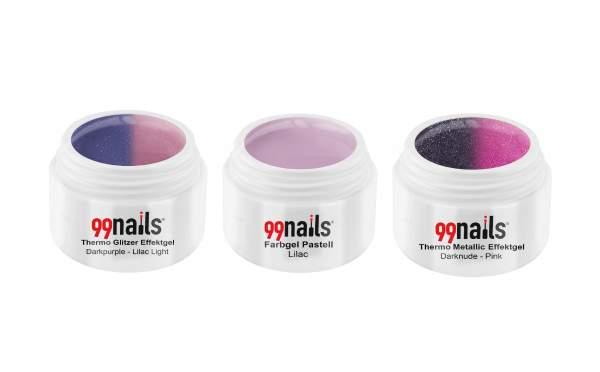 UV Farbgel Set - Lilac