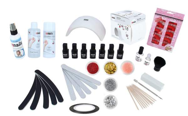 EasyLac Gel Polish Starter Set LED - Deluxe