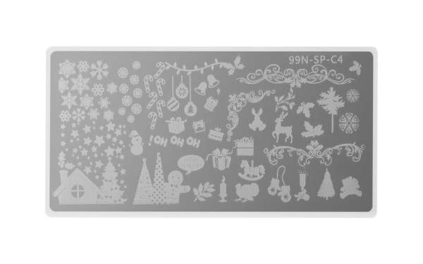 Special Stamping Plate - Merry Christmas