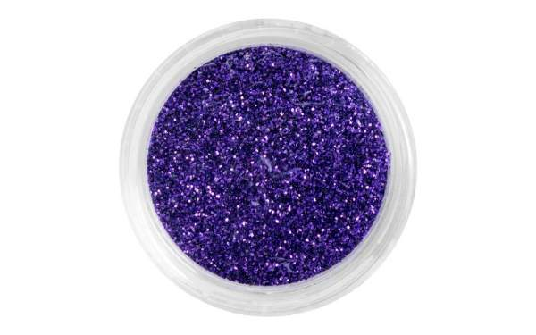 Nail Art Glitter Dust Purple