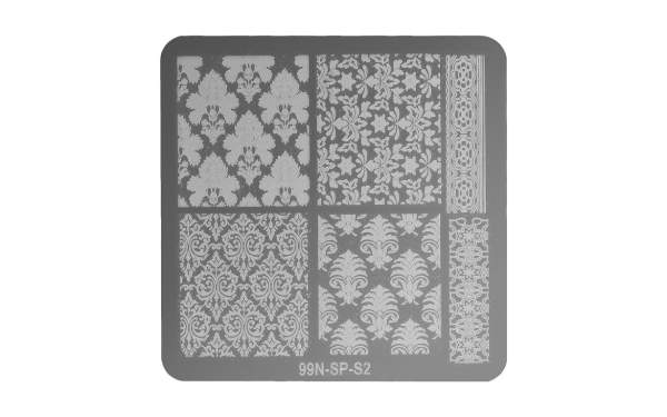 Square Stamping Plate - Harmony