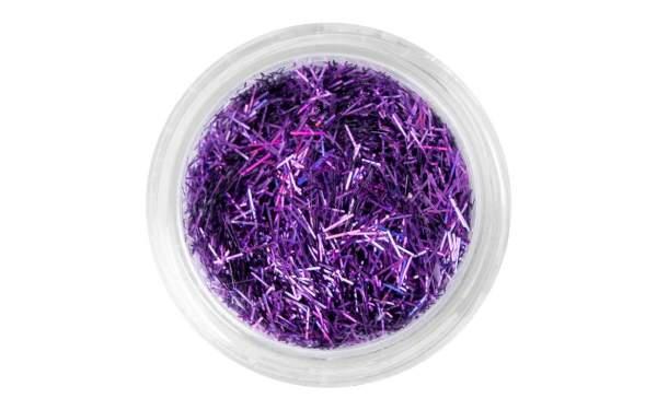 Nail Art Glitter Threads Purple