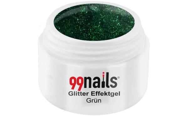 Glitter Gel - Green 5ml