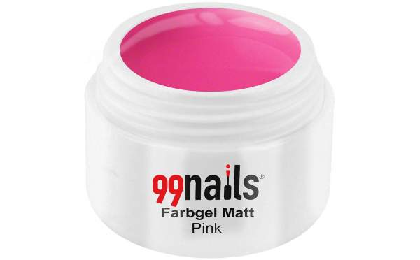 Colour Gel Matte - Pink 5ml