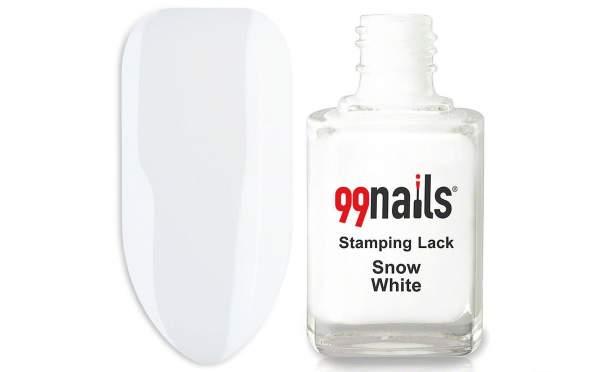 Stamping Polish - Snow White 12ml