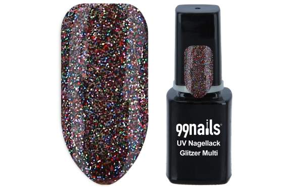 Gel Polish - Multi Glitter 12ml