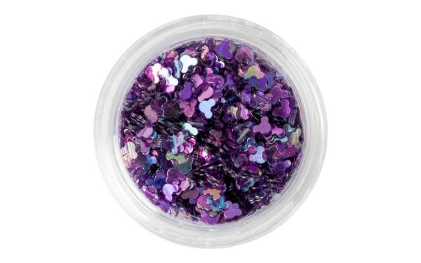 Nail Art Holographic Mouse Purple