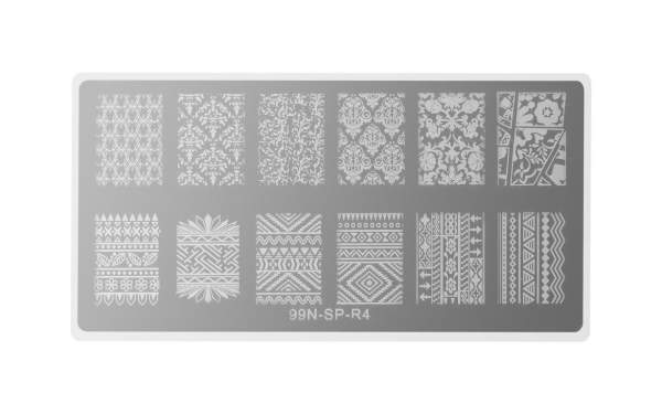 Rectangular Stamping Plate - Mystery