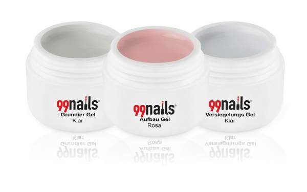 3 Step Gel Set - Light Pink 30ml