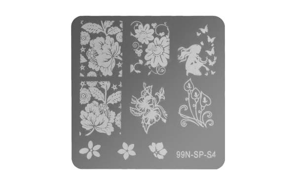 Square Stamping Plate - Perfection